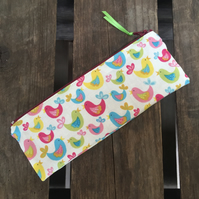 Garden Birds Pencil Case