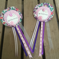 Bridesmaid's Rosette