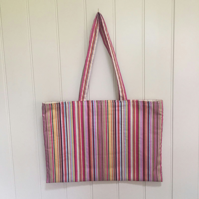 Stripey Bag