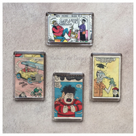 Vintage Beano and Dandy Fridge Magnet