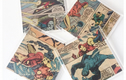 Vintage Comic Book Coaster Sets