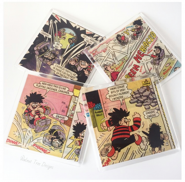 Dennis the Menace Coaster Sets