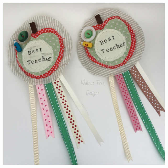 'Best Teacher' Rosette