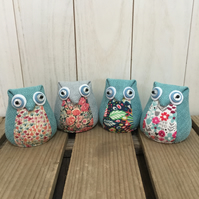 Owl Pincushion or Paperweight