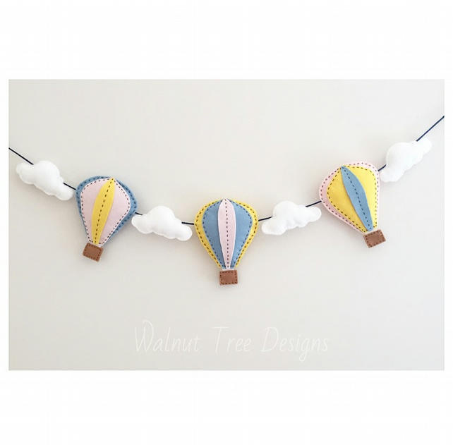 Hot Air Balloon Garland