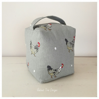 Hen Design Fabric Doorstop