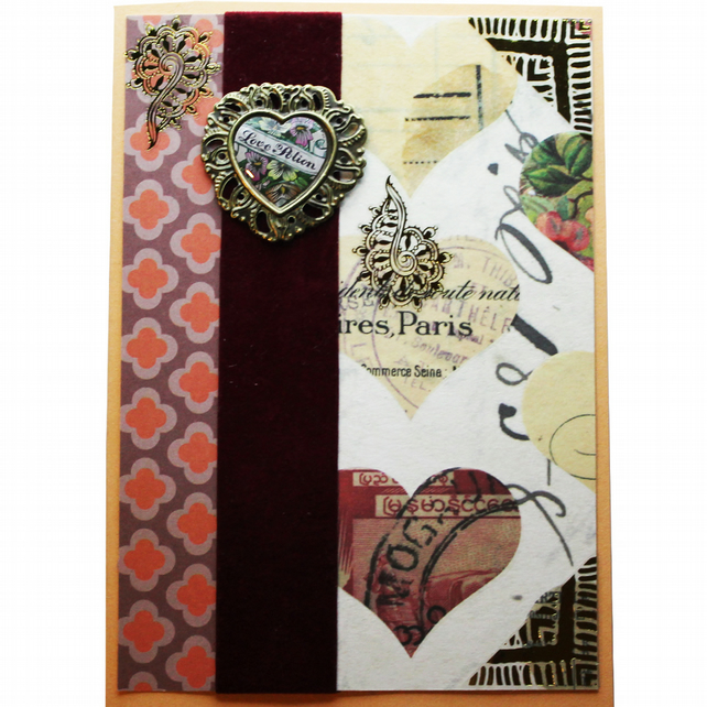 Love Potion A6 Card