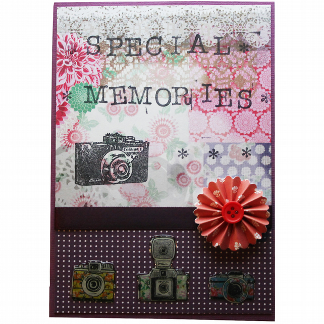 Special Memories A6 Card