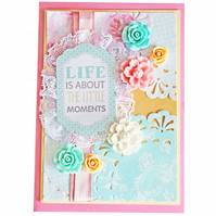 The Little Moments A6 Card
