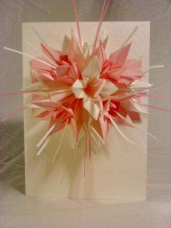 Bouquet Card - Pink