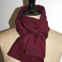 wine abstract leaf scarf