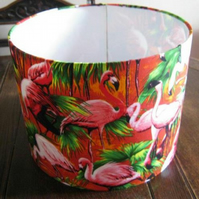 Pretty Amazing Retro Flamingo Lampshade.