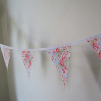 Super Lovely Bunting made from Cath Kidson Paisley Haberdashery Fabric