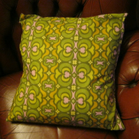 "Fabulous Retro Cushion Cover. 16"" x 16"""
