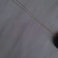 Black button necklace for Hevskitronic!