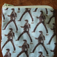 Super Elvis Zip Purse.