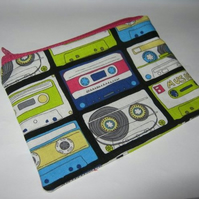 Retro Cassette Tape purse.