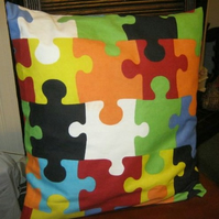 Large Jigsaw Cushion