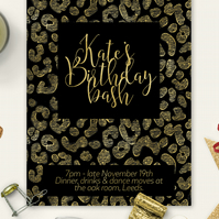 Personalised invitation for anniversary, parties, engagements, weddings and more