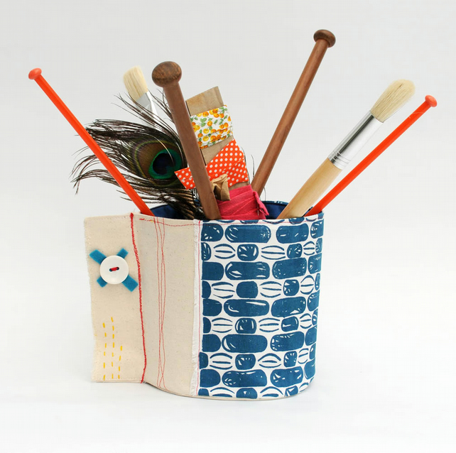 fabric bucket tidy