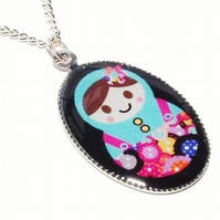 The Little Button Lady Pendant
