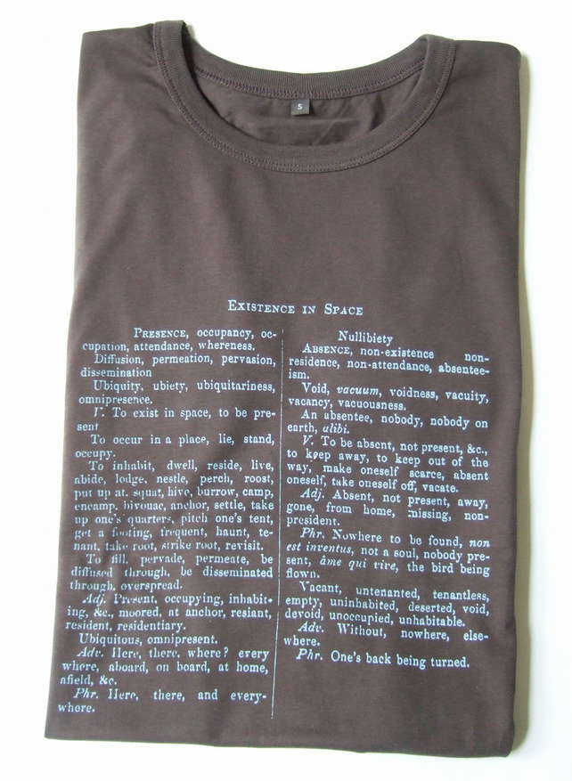 Existence In Space Print  Mens Organic cotton  Slim Fit T shirt Graphite