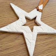 Ceramic Star Decoration