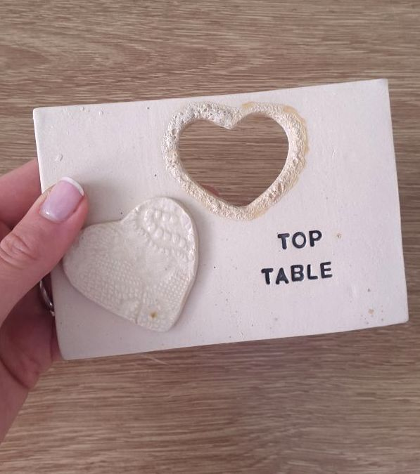 Top Table Ceramic Wedding Tile