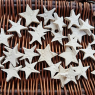 Handmade Ceramic Star for Crafts