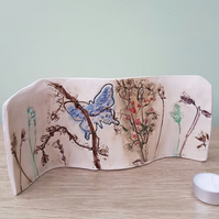 Butterfly Forest Ceramic Curve