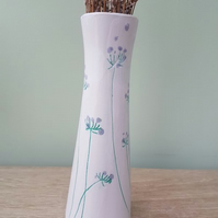 Elegant Stemsations Tall Ceramic Vase