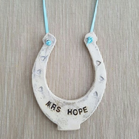 Personalised Ceramic Horseshoe