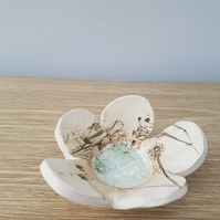 Little Ceramic Petal Dish