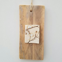 Mixed Media Wall Hanging – Bare Branches