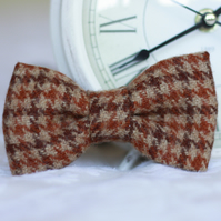 Mens Scottish Tweed Bow Tie