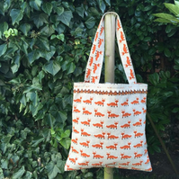 Fabulous Foxy Shopping Bag, Work Tote, Overnight, Days Out