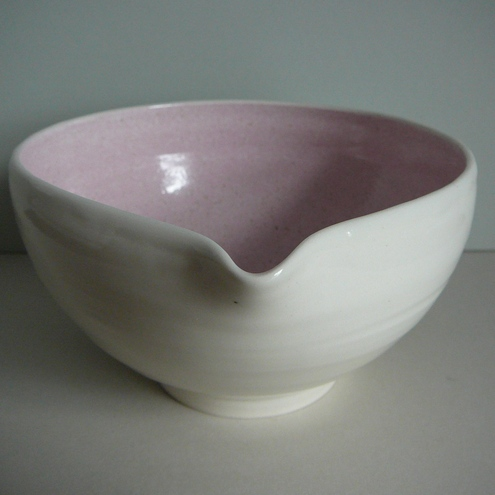 Speckled Pink Pouring Bowl