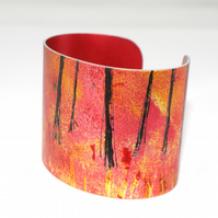 Abstract woodland cuff
