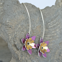 Spring flowers earrings