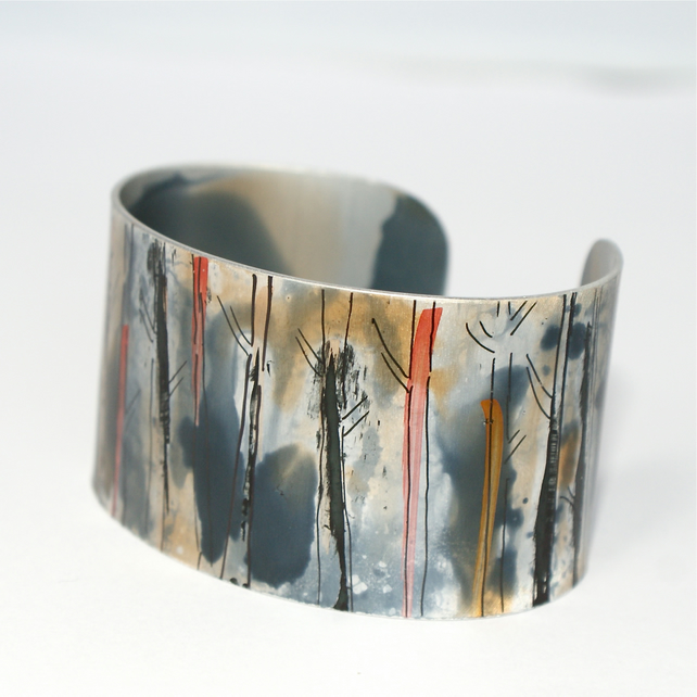 Amonst the trees cuff - narrow