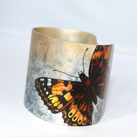 Painted Lady butterfly cuff