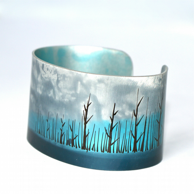 Edge of the woods cuff - narrow