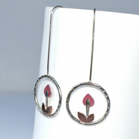 Little flower earrings