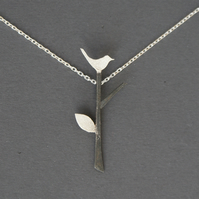 Edge of the woods tree necklace