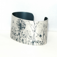 Spring hedgerow cuff - narrow