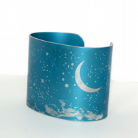 Night sky cuff - blue