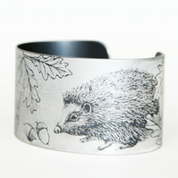 Hedgehog and the snail cuff narrow