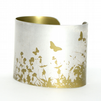 Summer hedgerow cuff olive