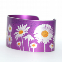Oops a daisy cuff narrow pink