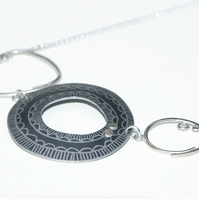 Coastal 3 piece necklace grey